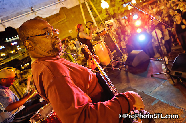 Big Muddy Blues Festival 2011 at The Laclede's Landing in St. Louis, MO on Sept 3-4, 2011.