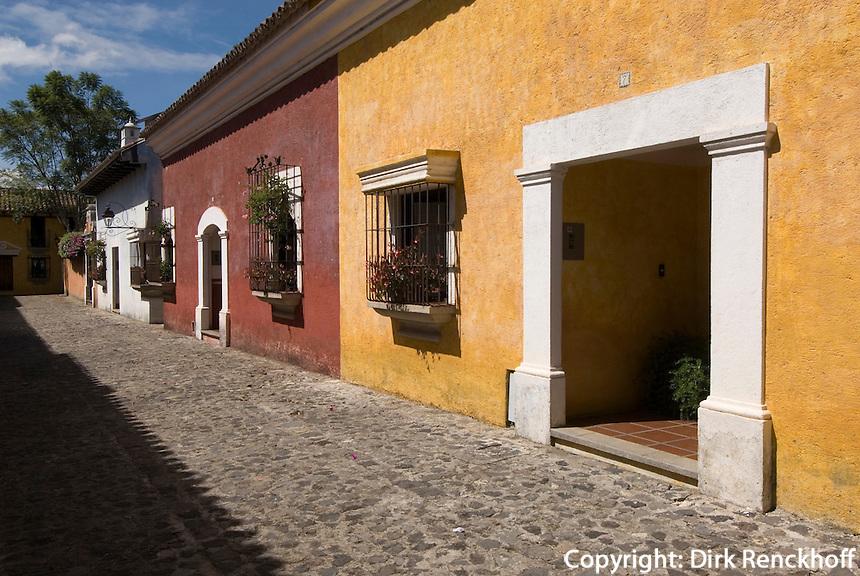 Guatemala,  in Antigua, Unesco-Weltkulturerbe