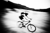 Mountain biking, Gifford Pinchot National Forest, WA.