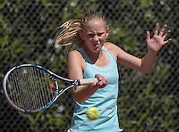 Hilversum, Netherlands, August 10, 2016, National Junior Championships, NJK, Sophie Schouten (NED)<br /> Photo: Tennisimages/Henk Koster