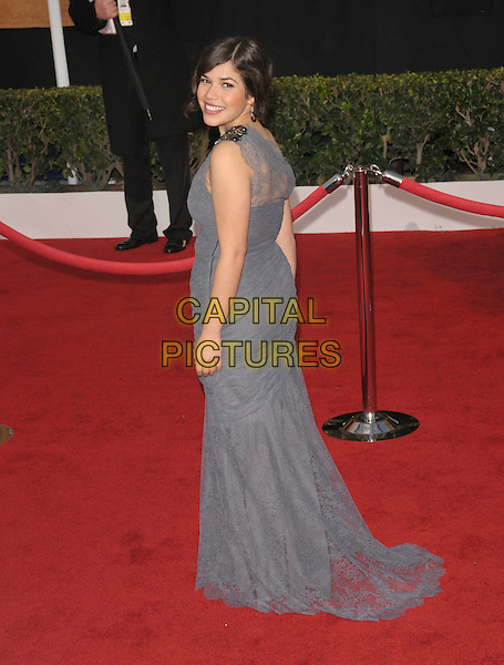 America Ferrera attends The 14th annual Screen Actors Guild Awards (SAG Awards)  held at Shrine Auditorium, Los Angeles, California on January 27, 2008. Copyright 2007 Debbie VanStory/RockinExposures/ /