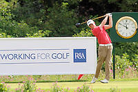 Nathan Kimsey (England) on the 1st on the Final Day of the International European Amateur Championship 2012 at Carton House, 11/8/12...(Photo credit should read Jenny Matthews/Golffile)...