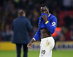 Everton's Romelu Lukaku looks on dejected at the final whistle during the Premier League match at Vicarage Road Stadium, London. Picture date December 10th, 2016 Pic David Klein/Sportimage