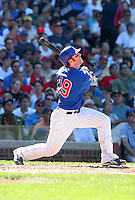Chicago Cubs outfielder Matt Murton #19 during a game against the New York Mets at Wrigley Field on July 15, 2006 in Chicago, Illinois.  (Mike Janes/Four Seam Images)