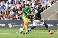 Preston North End's Alan Browne with a first half shot<br /> <br /> Photographer Rob Newell/CameraSport<br /> <br /> The EFL Sky Bet Championship - Millwall v Preston North End - Saturday 3rd August 2019 - The Den - London<br /> <br /> World Copyright © 2019 CameraSport. All rights reserved. 43 Linden Ave. Countesthorpe. Leicester. England. LE8 5PG - Tel: +44 (0) 116 277 4147 - admin@camerasport.com - www.camerasport.com
