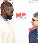 """Tarell Alvin McCraney and Trip Cullman during the MTC Broadway Cast Call for """"Choir Boy"""" at The MTC Rehearsal Studios on November 20, 2018 in New York City."""