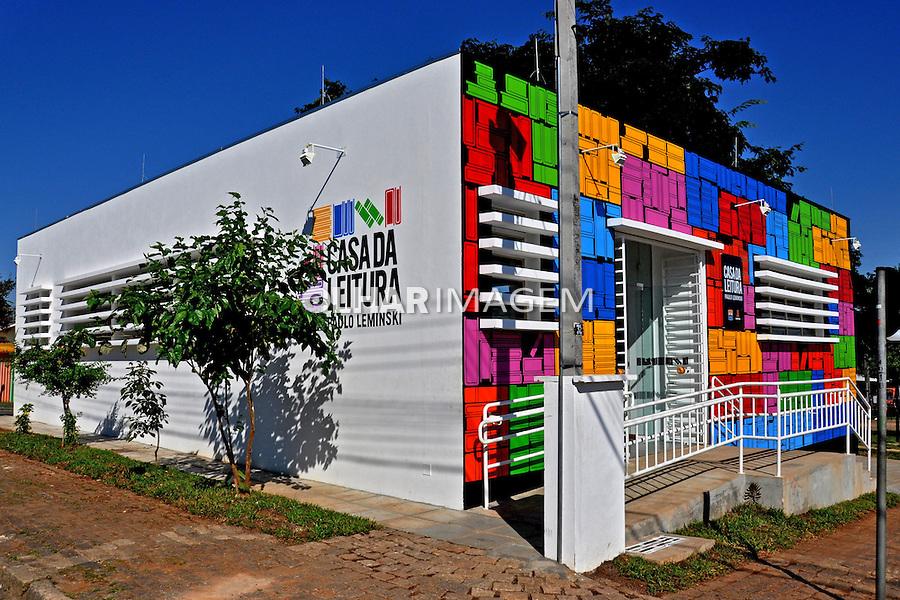 Casa de Leitura Paulo Leminsky en Curitiba. Parana. 2010. Foto de Alberto Viana.