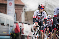 Jasper Philipsen (BEL/UAE-Emirates)<br /> <br /> 74th Nokere Koerse 2019 <br /> One day race from Deinze to Nokere / BEL (196km)<br /> <br /> ©kramon