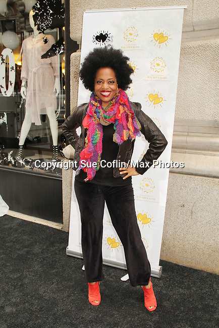 Rhonda Ross - Another World - celebrating 30 years of style and twenty-five years of giving back through Hearts of Gold at a black carpet salon style spring/summer fashion show and cocktail reception on May 9, 2019 at Blanc et Noir, New York City, New York.(Photo by Sue Coflin/Max Photos)