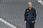 10.09.2017, Olympiastadion, Berlin, GER, 1.FBL, Hertha BSC vs SV Werder Bremen<br /> <br /> im Bild<br /> Bibiana Steinhaus (Schiedsrichterin / referee) bei Platzbegehung, <br /> <br /> Foto &copy; nordphoto / Ewert