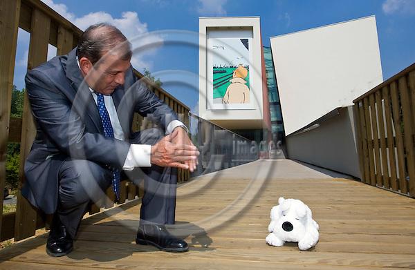 LOUVAIN-LA-NEUVE - BELGIUM - 01 JULY 2009 --Laurent de FROBERVILLE  Director of the Hergé (Georges Prosper Remi) Museum.  -- PHOTO: Juha ROININEN / EUP-IMAGES