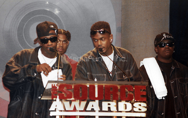 NEW YORK, NY - AUGUST 3:  ***HIGHER RATES APPLY*** Jodeci at the 1995 Source Awards at Madison Square Garden in New York City on August 3, 1995. Credit: Walik Goshorn/MediaPunch
