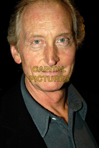 CHARLES DANCE.At The Graucho Club, London..October 4th, 2005.headshot portrait.www.capitalpictures.com.sales@capitalpictures.com.©Capital Pictures