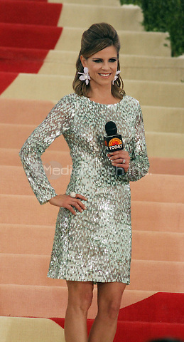 05 02 2016: Natalie Morales at Manus X Machina: Fashion In An Age of Technology at Metropolitan Museum of Art in New York. Credit:RWMediaPunch