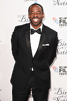 "Chike Okonkwo<br /> at the London Film Festival 2016 premiere of ""The Birth of a Nation"" at the Odeon Leicester Square, London.<br /> <br /> <br /> ©Ash Knotek  D3173  11/10/2016"