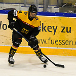 06.04.2019, BLZ Arena, Füssen / Fuessen, GER, FSP, U18, Deutschland (GER) vs Slowenien (SLO), <br /> im Bild Steven Raabe (GER, #24)<br /> <br /> Foto © nordphoto / Hafner