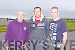 Enjoying the Kerry Head Half Marathon in Ballyheigue on Sunday l-r: Micky Harkin, Kevin O'Sullivan and Michael Leen.
