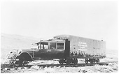 Brand new RGS Goose #4 in black paint at Dallas Divide wye.<br /> RGS  Dallas Divide, CO  1932