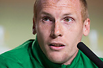 Sporting de Lisboa Jérémy Mathieu during press conference the day before Europa League match between Atletico de Madrid and Sporting de Lisboa at Wanda Metropolitano in Madrid, Spain. April 04, 2018. (ALTERPHOTOS/Borja B.Hojas)