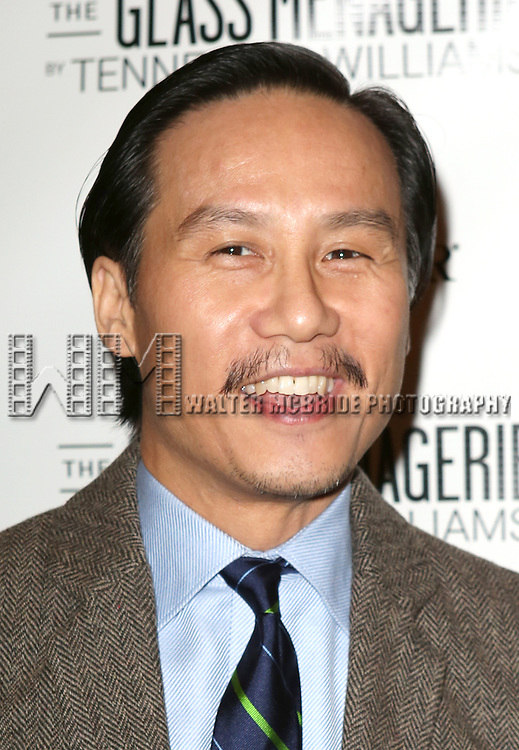 BD Wong  attends the Broadway Opening Night Performance of 'The Glass Menagerie' at the Booth Theatre in New York City on September 16, 2013.