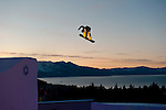 Nick Geisen at the Nike Chosen snowboard competition at Heavenly Valley in South Lake Tahoe. Photo by Scott Sady - Novus Select