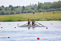 Race: 42  Event: Women's Double Sculls - Tier 2 - Final<br /> <br /> National Schools Regatta 2018<br /> Sunday<br /> <br /> To purchase this photo, or to see pricing information for Prints and Downloads, click the blue 'Add to Cart' button at the top-right of the page. The Metropolitan Regatta 2018