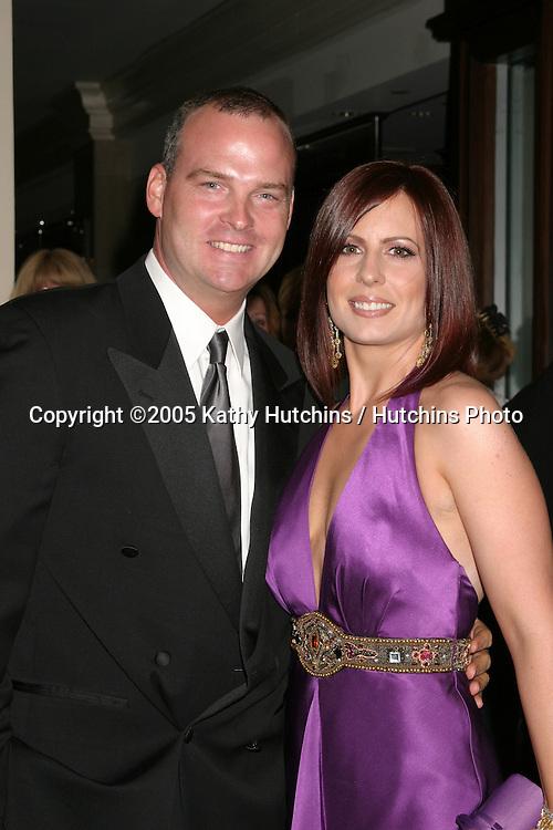 Martha Byrne.husband.32nd Annual Daytime Emmys.Radio City Music Hall.New York City, NY.May 20, 2005.©2005 Kathy Hutchins / Hutchins Photo...