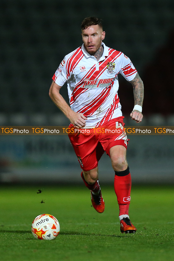 Jack King of Stevenage during Stevenage vs Brighton & Hove Albion Under-23, Checkatrade Trophy Football at the Lamex Stadium on 4th October 2016