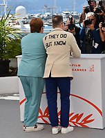 "CANNES, FRANCE. May 16, 2019: Elton John & David Furnish at the photocall for the ""Rocketman"" at the 72nd Festival de Cannes.<br /> Picture: Paul Smith / Featureflash"