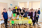 A large crowd gathered to support Daffodil Day in the Ballyheigue Family Resource Centre on Thursday morning