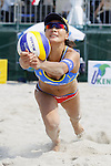 Shinako Tanaka, MAY 6, 2012 - Beach Volleyball : JBV Tour 2012 Sports Club NAS Open  Women's final at Odaiba Beach, Tokyo, Japan. (Photo by Yusuke Nakanishi/AFLO SPORT) [1090]