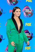LOS ANGELES - AUG 13:  Katie Stevens at the Teen Choice Awards 2017 at the Galen Center on August 13, 2017 in Los Angeles, CA