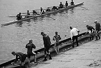 Mortlake/Chiswick. Greater London. London. 2017 Bourne Regatta At Chiswick Bridge. Course, Runs from and to Mortlake Anglian and Alpha Boathouse, dependent on the Tide Direction. Chiswick.  River Thames. <br /> <br /> General view, Putney Town athletes,  boating.<br /> Saturday  06/05/2017<br /> <br /> [Mandatory Credit Peter SPURRIER/Intersport Images]