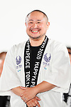Yusuke Hatsuse, <br /> JULY 24, 2017 : <br /> The countdown event Tokyo 2020 Flag Tour Festival and 3 Years to Go to the Tokyo 2020 Games, <br /> at Tokyo Metropolitan Buildings in Tokyo, Japan. <br /> (Photo by Yohei Osada/AFLO SPORT)