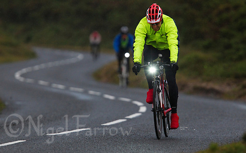 10 JUN 2011 - BRANSGORE, GBR - Matt Fisher - Triple Enduroman event - Enduroman Ultra Triathlon Championships .(PHOTO (C) NIGEL FARROW)