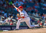 28 August 2016: Washington Nationals pitcher Koda Glover on the mound against the Colorado Rockies at Nationals Park in Washington, DC. The Rockies defeated the Nationals 5-3 to take the rubber match of their 3-game series. Mandatory Credit: Ed Wolfstein Photo *** RAW (NEF) Image File Available ***