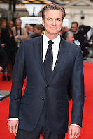 producer, Colin Firth<br /> arrives for the &quot;Eye in the Sky&quot; premiere at the Curzon Mayfair Cinema, London<br /> <br /> <br /> &copy;Ash Knotek  D3105 11/04/2016