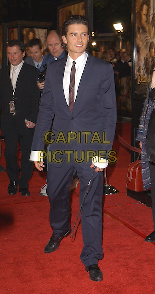 ORLANDO BLOOM.The Lord of The Rings:The Return of The King L.A. Premiere held at The Mann Village Theatre.                  03/12/2003.full length, full-length, suit.www.capitalpictures.com.sales@capitalpictures.com.©Capital Pictures.