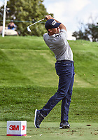 26th July 2020, Blaine, MN, USA;  Michael Thompson tees off on the 17th hole during the final round of the 3M Open golf tournament at TPC Twin Cities in Blaine, Minnesota