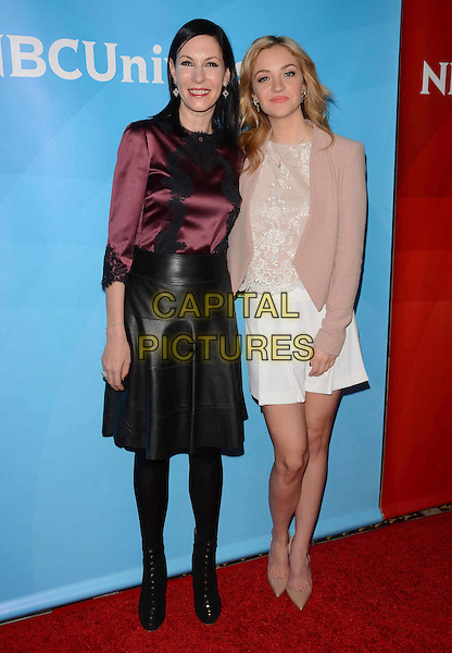 15 January 2015 - Pasadena, California - Jill Kargman, Abby Elliot.<br /> NBCUniversal 2015 TCA Press Tour held at The Langham Huntington Hotel.  <br /> CAP/ADM/BT<br /> &copy;Birdie Thompson/AdMedia/Capital Pictures