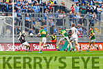 Darren O'Sullivan, scores Kerry's Seventh goal in the All Ireland Quarter Final at Croke Park on Sunday.