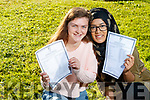Students from Presentation Secondary School, Tralee, who received their Junior Certificate results on Wednesday morning last were l-r: Ciara O'Mahony (Tralee 9 A's and a merit in Engilsh) and Sonia Akther, (Tralee, 8 A's and a merit in English).