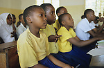 "Afrika Ostafrika Tanzania Tansania .Kinder bei HIV Aids Aufkl?rung Unterricht an Schule in Dar es Salam -  Gesundheit Pandemie Afrikaner afrikanisch afrikanischer Bildung bilden lernen Schulsystem Bildungssystem xagndaz | .Africa East africa Tanzania .kids during HIV aids campaign at school in Dar es salam  - education health african children child learn study   .| [ copyright (c) Joerg Boethling / agenda , Veroeffentlichung nur gegen Honorar und Belegexemplar an / publication only with royalties and copy to:  agenda PG   Rothestr. 66   Germany D-22765 Hamburg   ph. ++49 40 391 907 14   e-mail: boethling@agenda-fototext.de   www.agenda-fototext.de   Bank: Hamburger Sparkasse  BLZ 200 505 50  Kto. 1281 120 178   IBAN: DE96 2005 0550 1281 1201 78   BIC: ""HASPDEHH"" ,  WEITERE MOTIVE ZU DIESEM THEMA SIND VORHANDEN!! MORE PICTURES ON THIS SUBJECT AVAILABLE!! ] [#0,26,121#]"