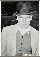 BNPS.co.uk (01202 558833)<br /> Pic: DominicWinter/BNPS<br /> <br /> Charles Chaplin pictured without his trademark moustache.<br /> <br /> A remarkable set of 430 candid photographs of Hollywood royalty have been unearthed after 50 years.<br /> <br /> Included in the collection of unpublished pictures are snaps of silver screen icons Paul Newman, Charlie Chaplin, Bette Davis, Audrey Hepburn, and Dean Martin.<br /> <br /> Paul Newman is captured looking over his shoulder at the wheel of his car and Charlie Chaplin is pictured without his trademark moustache. <br /> <br /> Audrey Hepburn has posed with her then husband actor Mel Ferrer while Bette Davis can be seen puffing on a cigarette.<br /> <br /> The snaps were taken by obsessive amateur photographer Dwight 'Dodo' Romero from 1954 to 1967 who would hang around at Hollywood parking lots and other hang-outs to catch a glimpse of the stars.<br /> <br /> The photos, which more recently belonged to a book dealership in York, have emerged for auction and are tipped to sell for &pound;800.