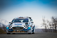 26th January 2020, Monaco, Monte Carlo;  LAPPI Esapekka (FIN), FERM Janne (FIN), Ford Fiesta WRC, M-Sport Ford WRT, action during the 2020 WRC World Rally Car Championship, Monte Carlo rally