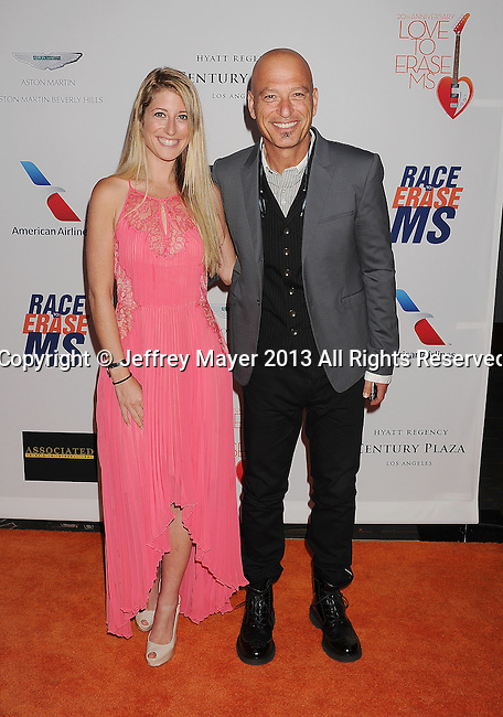 CENTURY CITY, CA- MAY 03: TV Personality Howie Mandel (R) and daughter Jackie Mandel arrive at the 20th Annual Race To Erase MS Gala 'Love To Erase MS' at the Hyatt Regency Century Plaza on May 3, 2013 in Century City, California.