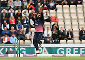 29th September 2017, Ageas Bowl, Southampton, England; One Day International Series, England versus West Indies; Adil Rashid of England in bowling action