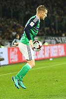 Stephen Davis (Nordirland, Northern Ireland)- 11.10.2016: Deutschland vs. Nordirland, HDI Arena Hannover, WM-Qualifikation Spiel 3