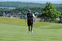 Brendan O'Carroll on the course during the Bulmers 2018 Celebrity Cup at the Celtic Manor Resort. Newport, Gwent,  Wales, on Saturday 30th June 2018<br /> <br /> <br /> Jeff Thomas Photography -  www.jaypics.photoshelter.com - <br /> e-mail swansea1001@hotmail.co.uk -<br /> Mob: 07837 386244 -