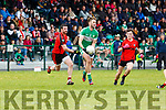 Billy Maguire Legion is held up by Kenmare during their SFC clash in Killarney on Sunday